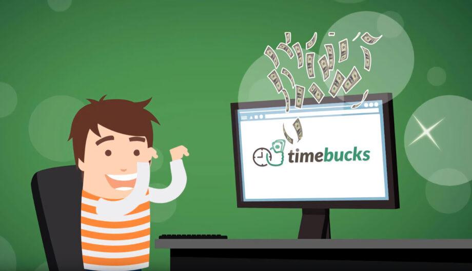 kiếm tiền với timebucks