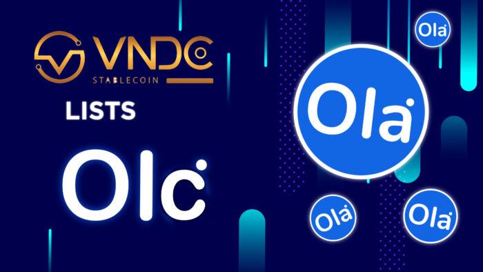 Ola Coin lits trên VNDC