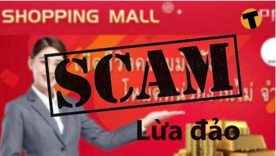 app shopping mall lừa đảo