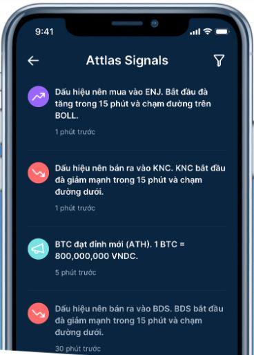 Cung cấp tín hiệu giao dịch Attlas Exchange