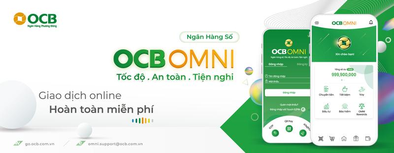 """OCB Omni mang đến cho khách hàng các trải nghiệm """"Tốc độ – Tiện nghi – An toàn"""""""