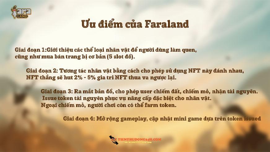 ưu điểm của Faraland