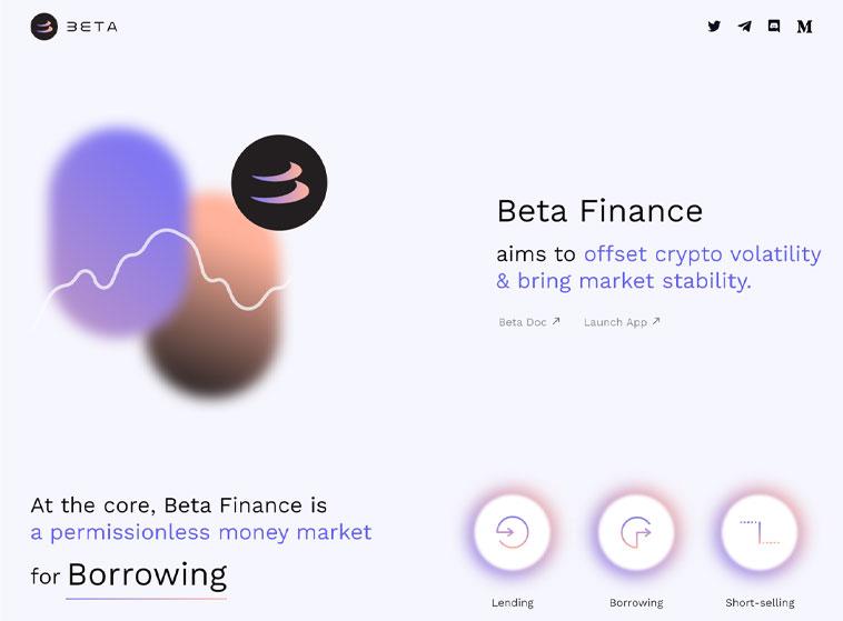 Beta Finance là gì? - https://betafinance.org